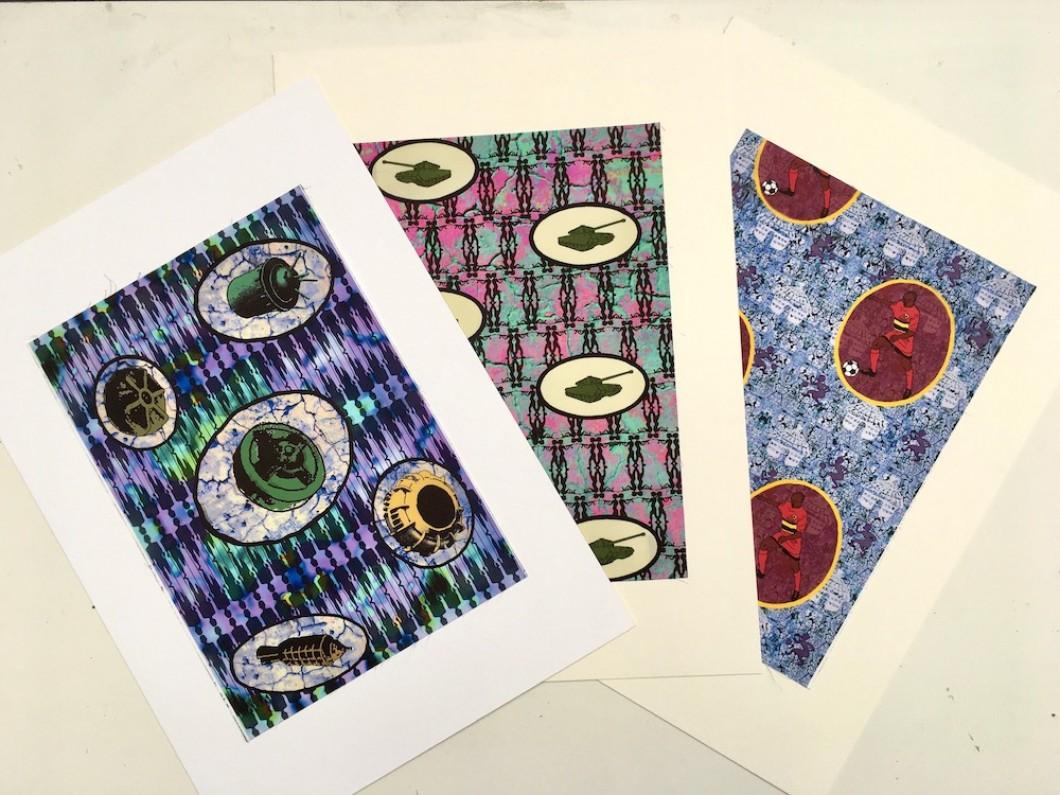 Angola Fabric Prints 2008, Inkjet on cotton