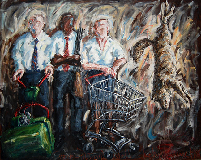 http://www.johnkeaneart.com/assets/images/medjpg/Groupwithdeadwolf1988.jpg
