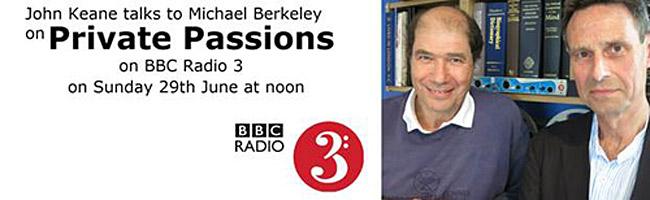 Private Passions Radio 3 John Keane