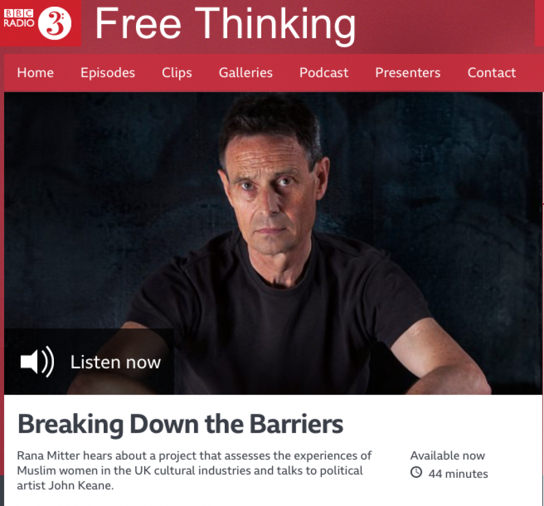 JOHN KEANE ON RADIO3 FREE THINKING 11/6/19